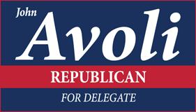 John Avoli for Delegate