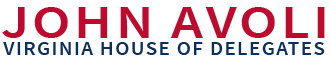 Delegate John Avoli – Virginia's 20th District House of Delegates